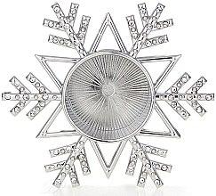 Парфюмерия и Козметика Подставка за чаени свещи - Yankee Candle Twinkling Snowflake Tea Light Holder