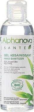 Антибактериален измиващ гел за ръце, без аромат - Alphanova Sante — снимка N1