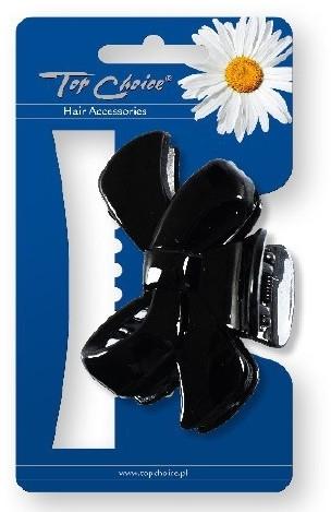 Шнола за коса 25594, черна - Top Choice — снимка N1