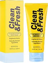 Парфюмерия и Козметика Изсветляващ нощен крем за лице - Eunyul Clean & Fresh Pure Brightening Night Cream