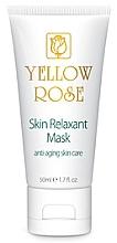 Парфюмерия и Козметика Маска-релаксант за лице с ботокс ефект (тубичка) - Yellow Rose Skin Relaxant Mask