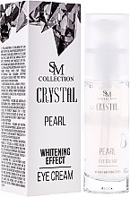 Парфюми, Парфюмерия, козметика Натурален перлен крем за очи - Hristina Cosmetics SM Crystal Pearl Eye Cream