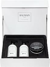 Парфюмерия и Козметика Комплект за коса - Balmain Paris Hair Couture Moisturizing Care Set (шамп./300ml + балс./300ml + маска/200ml)