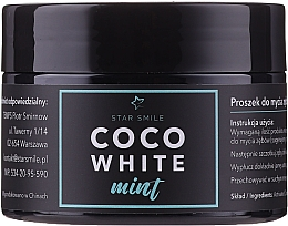 Парфюмерия и Козметика Избелваща пудра за зъби - Star Smile CoCo White Mint