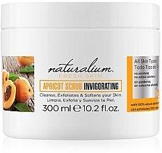 Парфюмерия и Козметика Освежаващ пилинг за тяло - Naturalium Fresh Skin Apricot