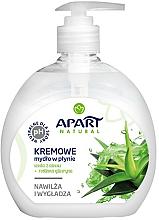 Парфюми, Парфюмерия, козметика Течен крем-сапун с алое вера и глицерин - Apart Natural Aloe Vera Water & Glycerin Soap