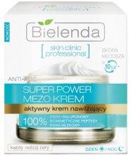 Парфюмерия и Козметика Активно овлажняващ крем ден и нощ - Bielenda Skin Clinic Professional Mezo Anti-age