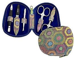 Парфюмерия и Козметика Комплект за маникюр - DuKaS Premium Line Manicure Set 5-piece PL 111FP