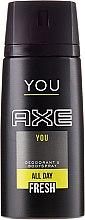 Парфюмерия и Козметика Дезодорант - Axe You Deodorant Spray