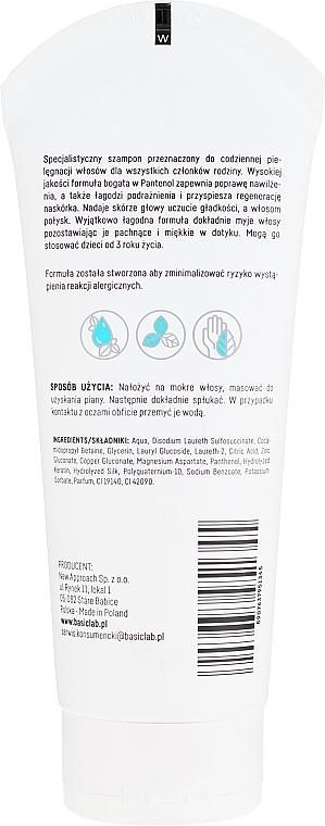 Семеен шампоан за коса - BasicLab Dermocosmetics Capillus Familly Shampoo — снимка N2