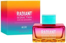 Парфюми, Парфюмерия, козметика Antonio Banderas Radiant Seduction Blue For Women - Тоалетна вода