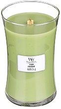 Парфюмерия и Козметика Ароматна свещ в чаша - WoodWick Hourglass Candle Fern
