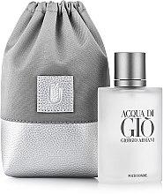 """Парфюмерия и Козметика Подаръчна чанта за парфюм, сива """"Perfume Dress"""" - MakeUp"""