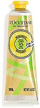 Парфюмерия и Козметика Крем за ръце с масло от шеа и бергамот - L'Occitane Shea Butter Bergamot Light Hand Cream