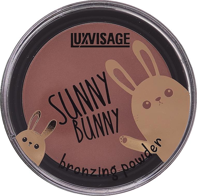 Бронзираща пудра за лице - Luxvisage Sunny Bunny Bronzing Powder