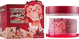 Парфюмерия и Козметика Ексофолиращи пачове за лице с екстракт от червено вино - Elizavecca Hell-Pore Perfect Wine Sparkling Peeling Pad