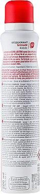 Дезодорант спрей с нар - Evoluderm Deodorant Acidulated Grenade 24H — снимка N2