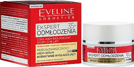 Подмладяващ крем за лице 35+ - Eveline Cosmetics Ekspert Expert Rejuvenation Cream Serum