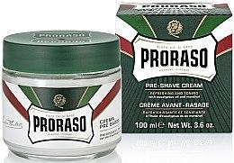Крем преди бръснене с ментол и евкалипт - Proraso Green Pre Shaving Cream — снимка N2
