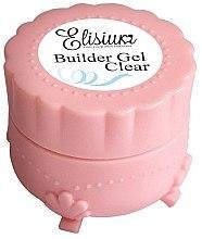 Парфюмерия и Козметика Гел за изграждане на нокти, безцветен - Elisium Builder Gel Clear