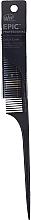 Парфюмерия и Козметика Гребен за коса, черен - Wet Brush Pro Epic Carbonite Tail Comb