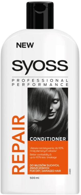 Балсам за суха и увредена коса - Syoss Repair Therapy — снимка N3