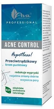 Крем с локално действие против акне - Ava Laboratorium Acne Control Professional Spotless Cream