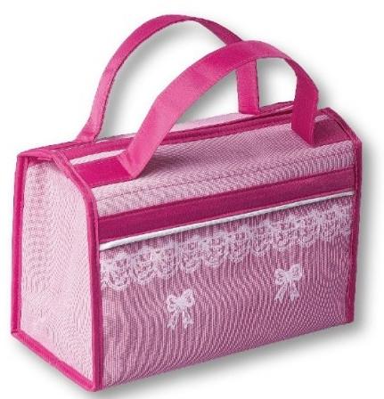 Козметична чанта, 96426, розова - Top Choice — снимка N1