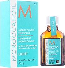 Парфюмерия и Козметика Възстановяващо масло за тънка и изсветлена коса - Moroccanoil Treatment For Fine And Light-Colored Hair