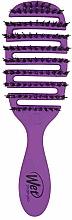 Парфюмерия и Козметика Четка за коса, лилава - Wet Brush Pro Flex Dry Shine Enhancer Purple