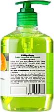 Течен сапун с глицерин - Fresh Juice Green Tangerine & Palmarosa — снимка N2