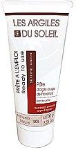 Парфюми, Парфюмерия, козметика Козметична червена глина - Les Argiles du Soleil Superfine Red Illite Clay (в тубе)