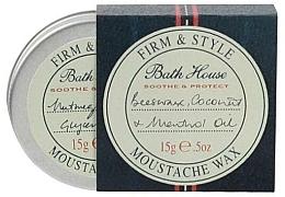 Парфюмерия и Козметика Восък за мустаци - Bath House Menthol Snorwax