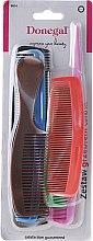 Парфюмерия и Козметика Комплект гребени за коса, 9814, 6бр. - Donegal Hair Comb