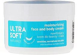 Парфюмерия и Козметика Овлажняващ крем за лице и тяло - Tolpa Ultra Soft Naturals Moisturising Face and Body Cream