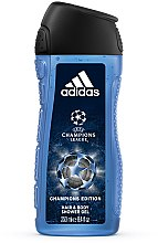 Парфюмерия и Козметика Душ гел - Adidas UEFA Champions League Champions Edition