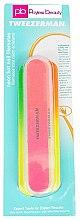 Комплект разноцветни пили за нокти - Tweezerman Neon Hot Nail Filemates — снимка N2