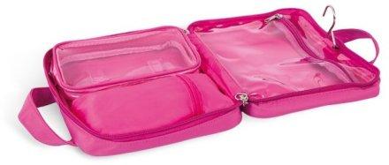 """Сгъваема козметична чанта с дръжка """"Капчици"""", 4945, розова - Donegal Cosmetic Bag — снимка N2"""