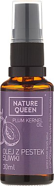 Масло от ядка на синя слива - Nature Queen Plum Kernel Oil