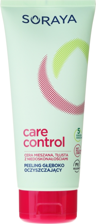 Дълбоко почистващ пилинг за лице - Soraya Care Control