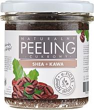 Парфюмерия и Козметика Пилинг за тяло с шеа и кафе - E-Fiore Coffee Body Peeling