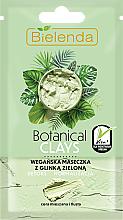Парфюми, Парфюмерия, козметика Маска за лице със зелена глина - Bielenda Botanical Clays