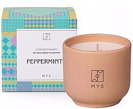 """Парфюмерия и Козметика Соева свещ """"Мента"""" - Mys Peppermints Candle"""
