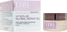 Парфюми, Парфюмерия, козметика Нощен подмладяващ и възстановяващ крем за лице - Lirene Lab Therapy Ultrafiller Global Repair 15%