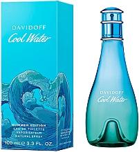 Парфюмерия и Козметика Davidoff Cool Water Woman Summer 2019 - Тоалетна вода