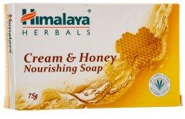 Парфюмерия и Козметика Подхранващ сапун с мед за нормална и суха кожа - Himalaya Herbals Cream Honey Soap