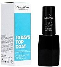 "Парфюми, Парфюмерия, козметика Топ лак ""10 Days"" - Pierre Rene Top Coat"