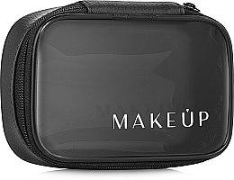 """Козметичен прозрачен несесер """"Compact"""", (без съдържанието) - MakeUp  — снимка N2"""
