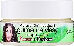 Парфюмерия и Козметика Восък за коса - Bione Cosmetics Keratin + Panthenol Professional Ultra Strong Sculpting Rubber