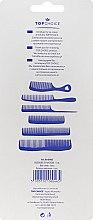 Комплект гребени за коса, 60465 - Top Choice — снимка N2